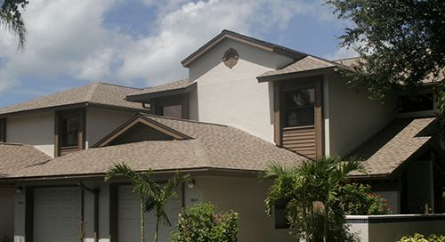 Click image of Sarasota residential roof to open Residential Roof Replacement Services page.