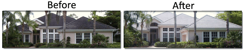 Cleaning your Florida roof: Roof-A-Cide